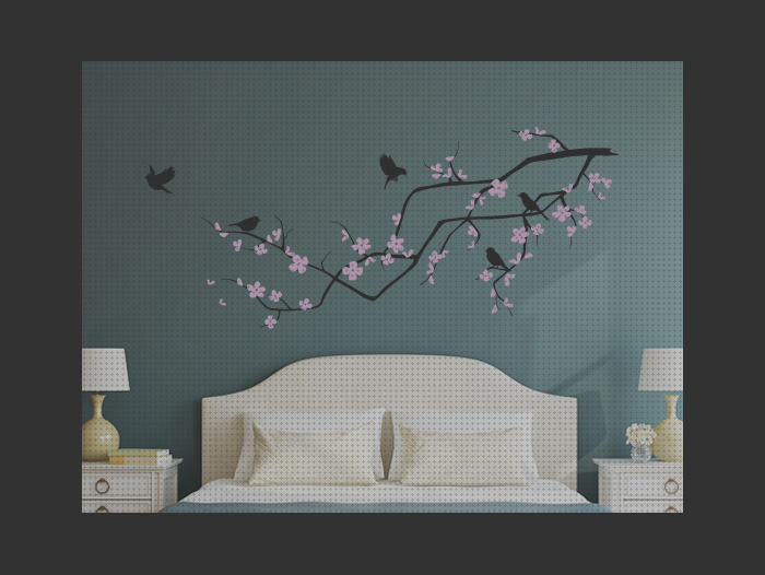 Review de decoracion pared pajaros rama